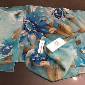 Adrienne Landau silk scarf